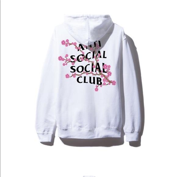 9ca6493433f0 Anti Social Social Club Sweaters - ASSC cherry blossom hoodie